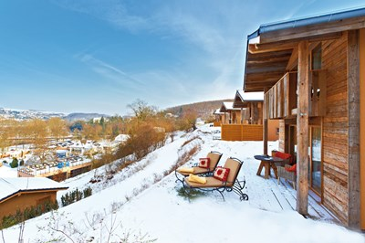 Winter Heimatlodges Tag