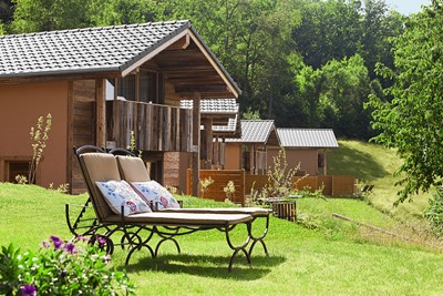 Heimat Lodge privater Garten