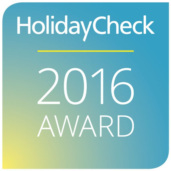 2016 HolidayCheck Award
