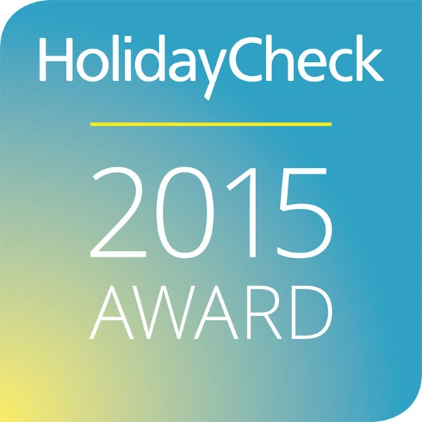 2015 HolidayCheck Award